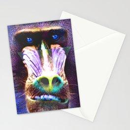 Mandrillus 1 Stationery Cards
