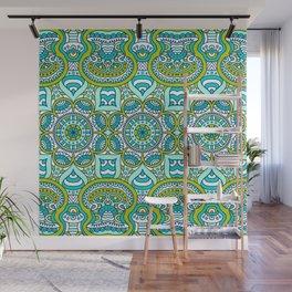 Gren Boho Pattern Wall Mural
