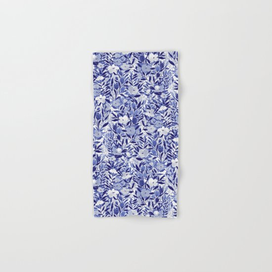 Nonchalant Indigo Hand & Bath Towel