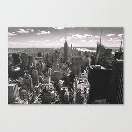Top Of The Rock. Canvas Print