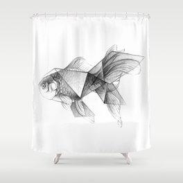 Goldfish Origami Shower Curtain