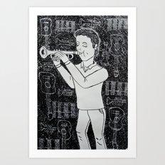 Música Art Print