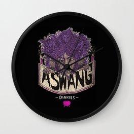 The Aswang Diaries Wall Clock