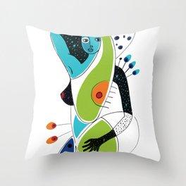 Soul Spots Throw Pillow