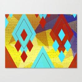 Diamond Essence  Canvas Print