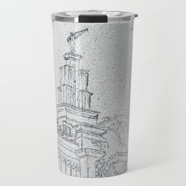 San Antonio Texas LDS Temple Travel Mug