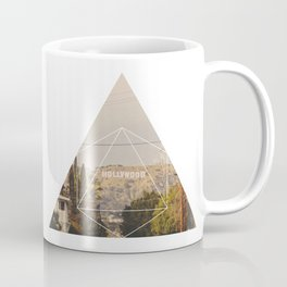 Hollywood Sign - Geometric Photography Coffee Mug