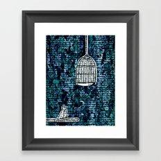 The Bird Cage Framed Art Print