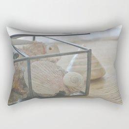 Down by the Seashore Rectangular Pillow