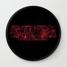 Stranger Danger Wall Clock