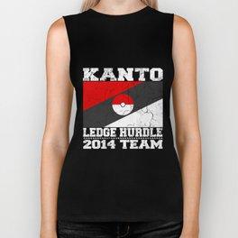 Kanto Ledge Hurdling Team White Outliens Biker Tank