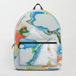 Eazy peazy painterly squeezy Backpack
