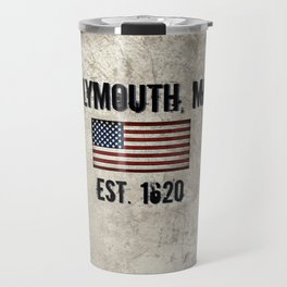 Plymouth, MA.  Established 1620 Travel Mug