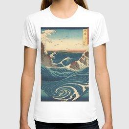 Vintage poster - Japanese Wave T-shirt