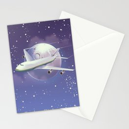 book a flight today Stationery Cards