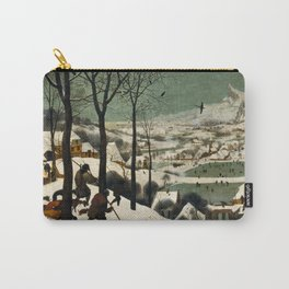 Hunters in the Snow (Winter) Carry-All Pouch