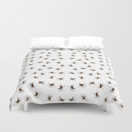 House spiders Duvet Cover