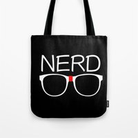 nerd Tote Bags featuring Nerd by UMe Images