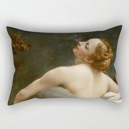 """Antonio Allegri da Correggio """"Jupiter and Io"""" Rectangular Pillow"""