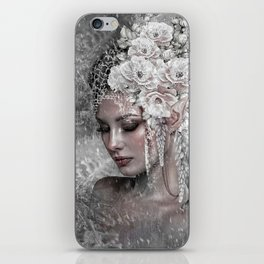 WINTER BRIDE ELF iPhone Skin
