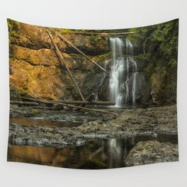 Upper North Falls, Late Summer Wall Tapestry