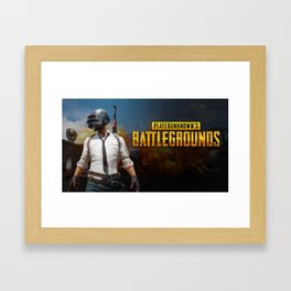 PUBG 5 Framed Art Print