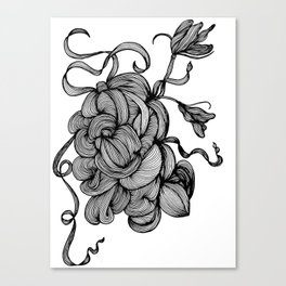 Organic Doodle 1408 Canvas Print