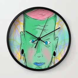 Open your mind. Wall Clock
