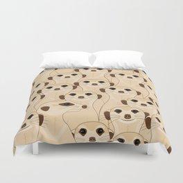 Meerkats - Suricata Duvet Cover