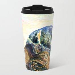 Turtle at Poipu Beach 8 Travel Mug