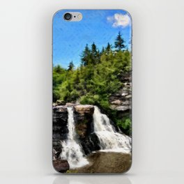 Blackwater Falls, West Virginia iPhone Skin
