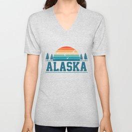 Alaska USA Unisex V-Neck