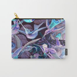 Ode to Haeckel's Hummingbirds Carry-All Pouch