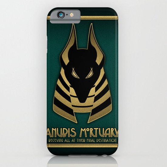 Anubis Mortuary iPhone & iPod Case
