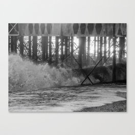 Waves. Canvas Print