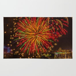 Firework collection 3 Rug