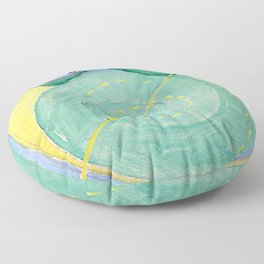 "Hilma af Klint ""Primordial Chaos No. 09, Group I"" Floor Pillow"