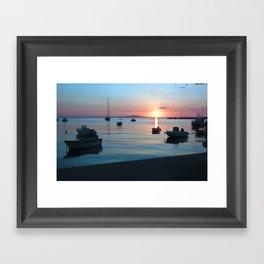 Little Port of Croatia Framed Art Print