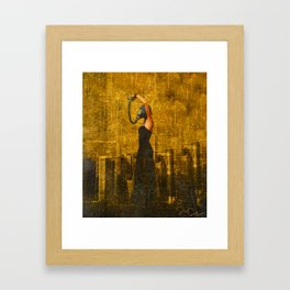 Living in a Nuclear World Framed Art Print