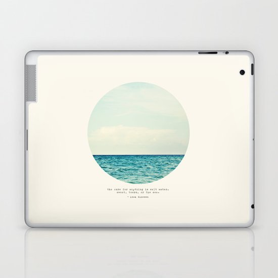 Salt Water Cure Laptop & iPad Skin