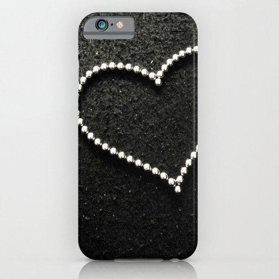 Buckyball heart. iPhone & iPod Case