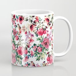 Flowers & Birds III Coffee Mug