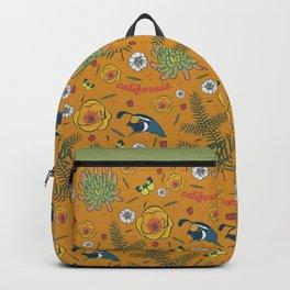 California Native, Burnt Orange Backpack