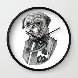 Mr. Pug Wall Clock