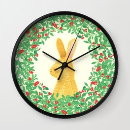 Lingon bunny Wall Clock