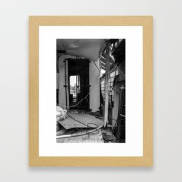 Doorway to Oblivion  Framed Art Print