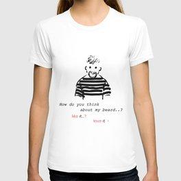 Bearded man-2 T-shirt