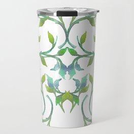 Watercolor Leaves III Travel Mug