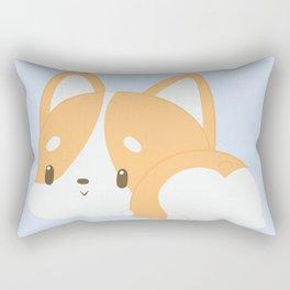 Corgi Butt Rectangular Pillow