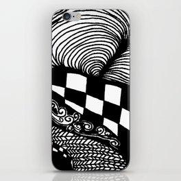 Zentangle #21 iPhone Skin